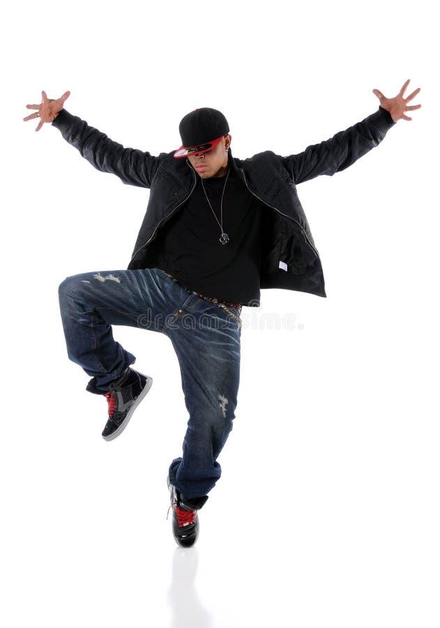 Exécution de danseur de Hip Hop images libres de droits