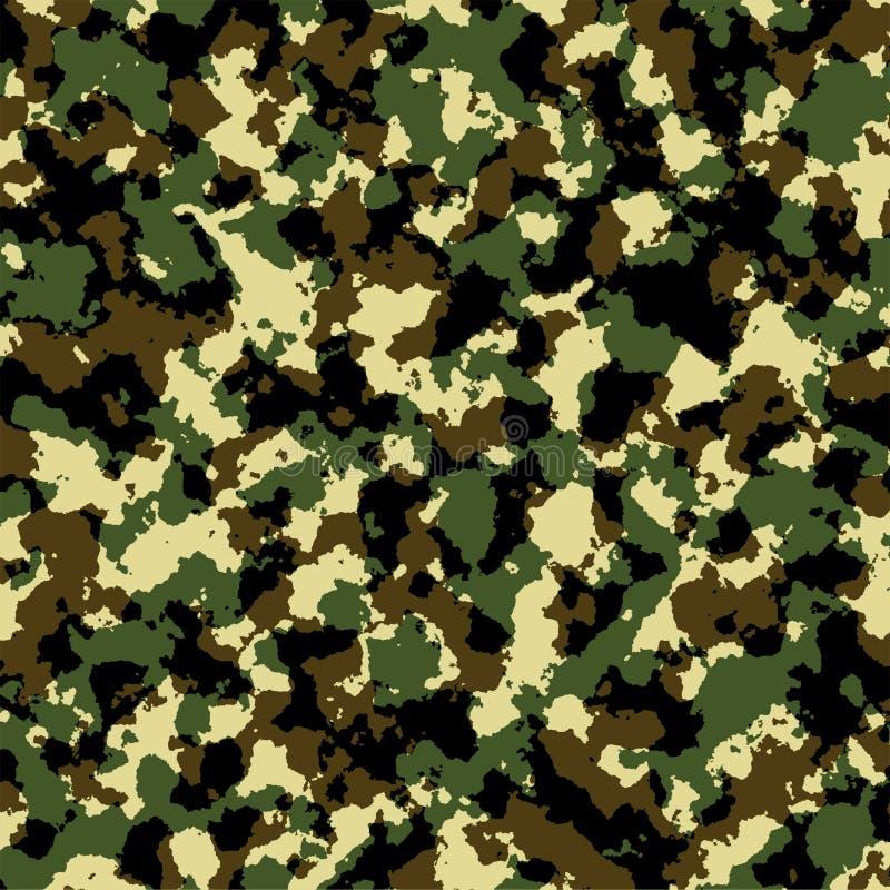 Exército camuflar ilustração stock