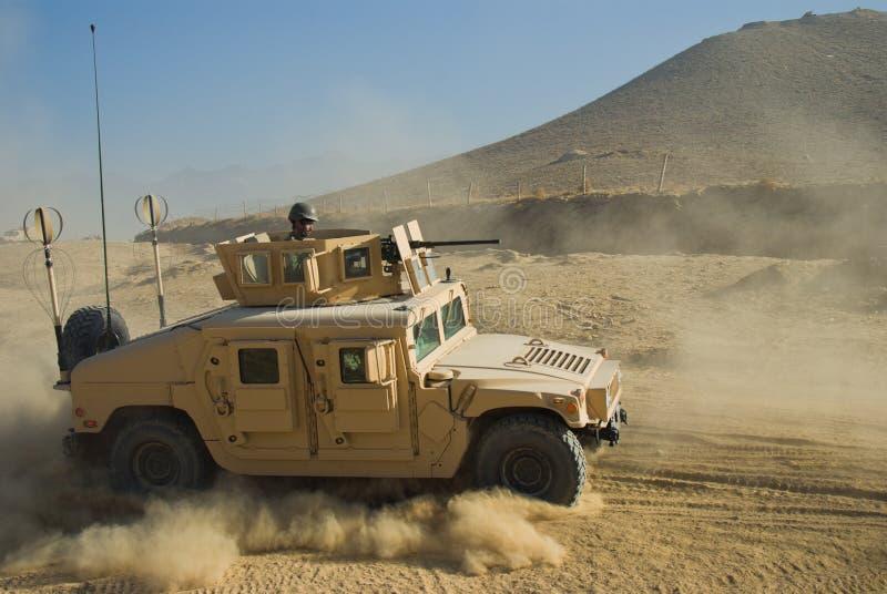 Exército HMMWV imagens de stock