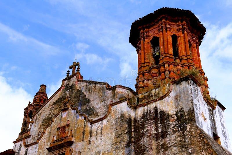 Ex-convento de San Agustin no patzcuaro mim foto de stock