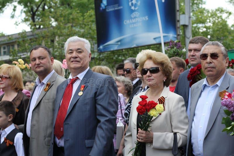 Ex-president Vladimir Voronin Editorial Photography