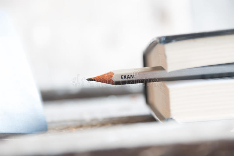 exam immagine stock
