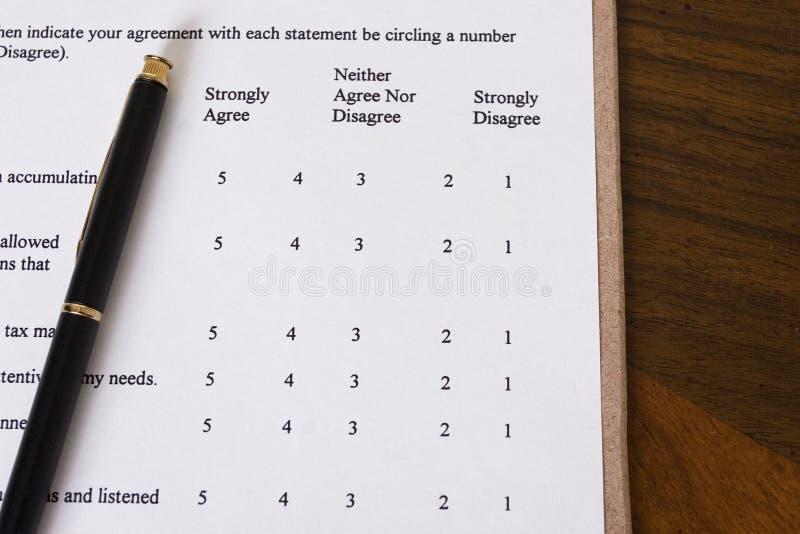 Exame fotografia de stock