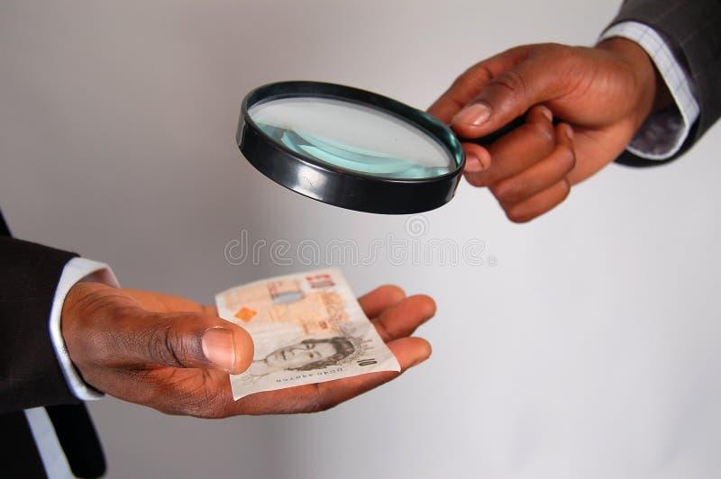 Examen 2 del dinero imágenes de archivo libres de regalías