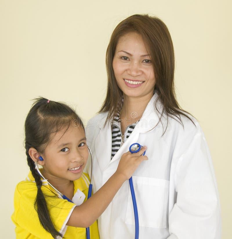 Examen du docteur photo libre de droits