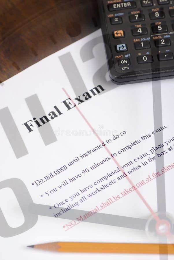 Examen final photos libres de droits