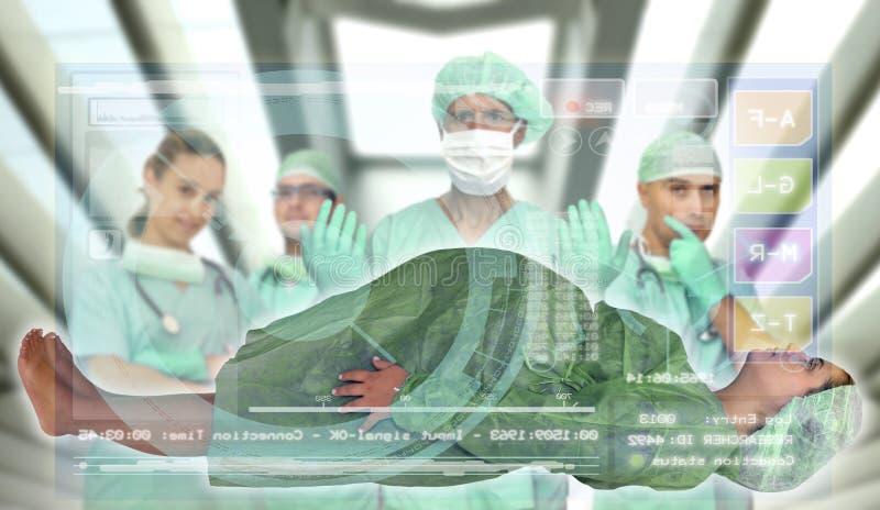 Examen médical images stock