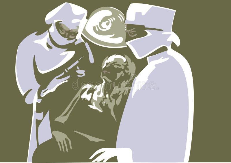 Examen médico libre illustration