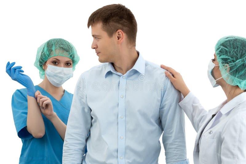 Examen médico Profilaxis de la prostatitis Salud de los hombres imagen de archivo