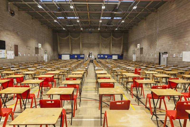 Examens de fin d'année d'école photo libre de droits