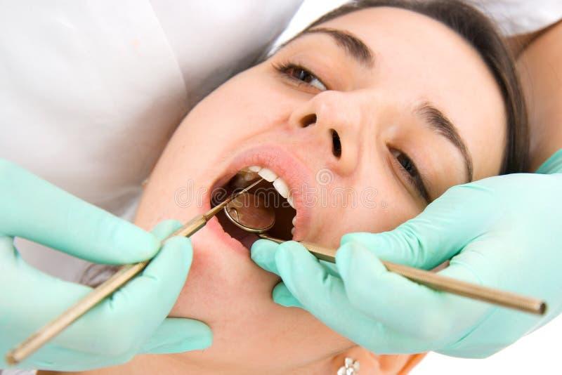 Examinação dental fotografia de stock royalty free