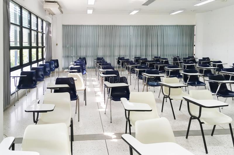 Examination room for bachelor`s Degree student Class . royalty free stock photo