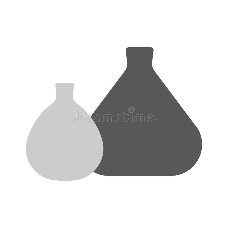 Examinez la ligne icône de baquets pour le Web, le mobile et l'infographics illustration libre de droits