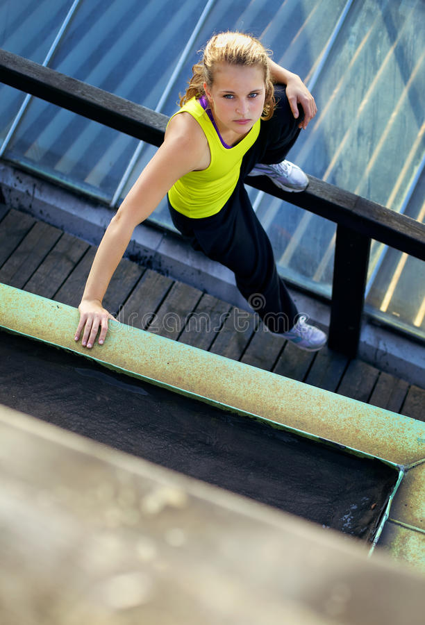 Examining The Obstacle In Parkour