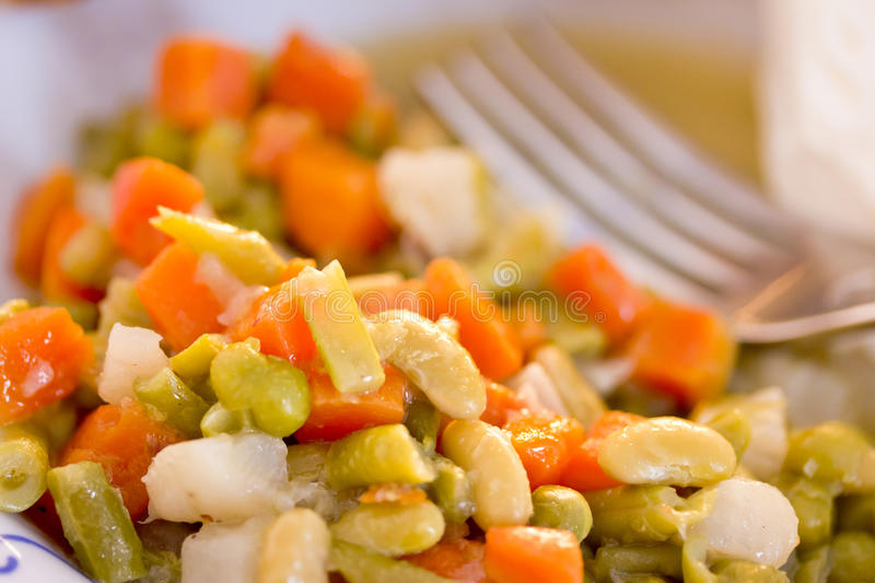 Download Healthy mixed veggies stock image. Image of bean, homemade - 29875955