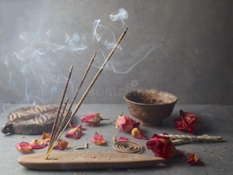 Exaspérez le bâton Aromatherapy image stock
