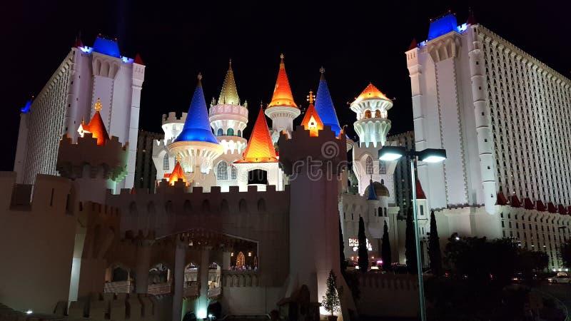 Excalibur Лас-Вегас стоковые изображения