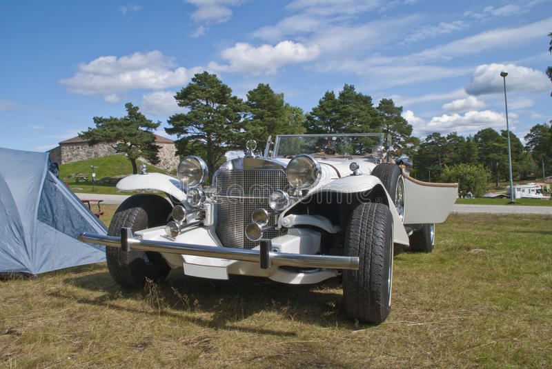 Excalibur (Automobil) Stockbild