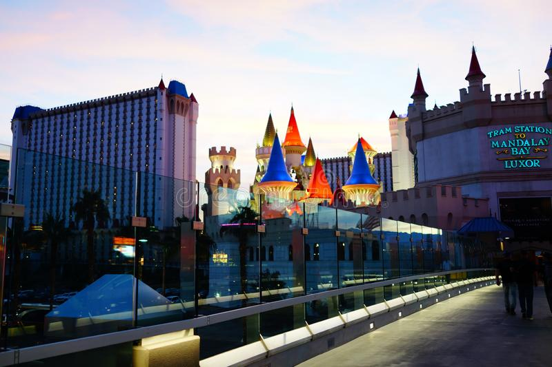 Excalibur Hotel & Casino 34. Excalibur offers everything you expect from a Las Vegas casino, with an extra dose of fun and friendliness. At the castle, you stock photo