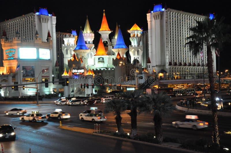 Excalibur kasyno w Las Vegas i hotel zdjęcia royalty free
