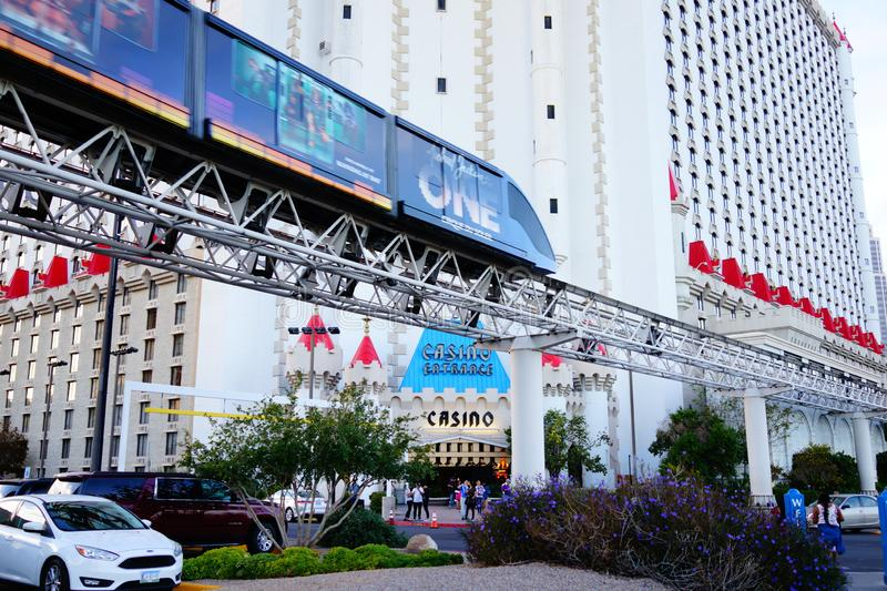 Excalibur Hotel & Casino 42. Excalibur offers everything you expect from a Las Vegas casino, with an extra dose of fun and friendliness. At the castle, you royalty free stock photography