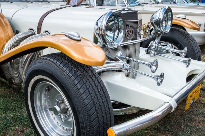 Excalibur Phaeton 86 presented on annual oldtimer car show, Israel royalty free stock photos