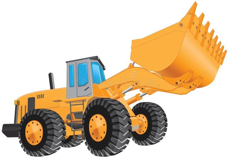 Excavador stock de ilustración