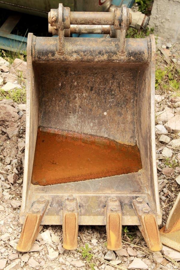 Excavador Bucket foto de archivo