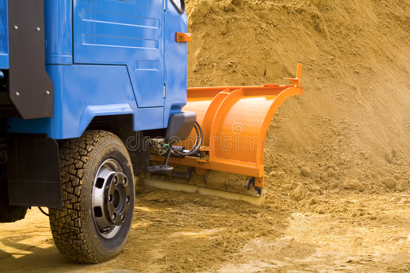 Excavating Works Stock Photography