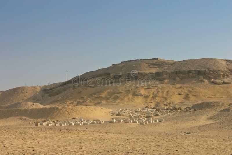 Excavation à Giza. l'Egypte images libres de droits