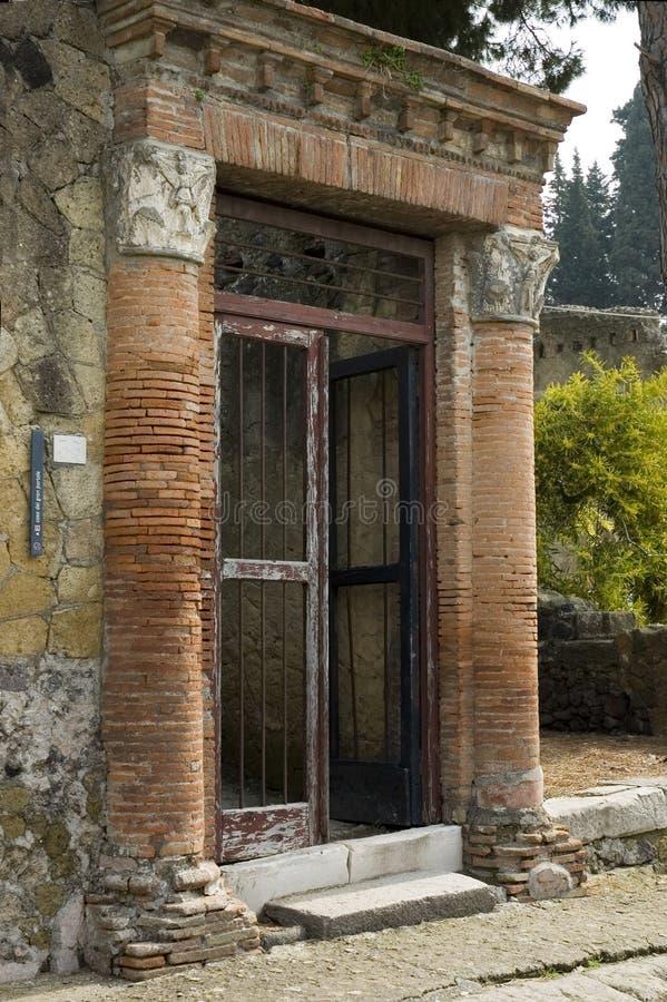 Excavation 3 de Herculanum images stock