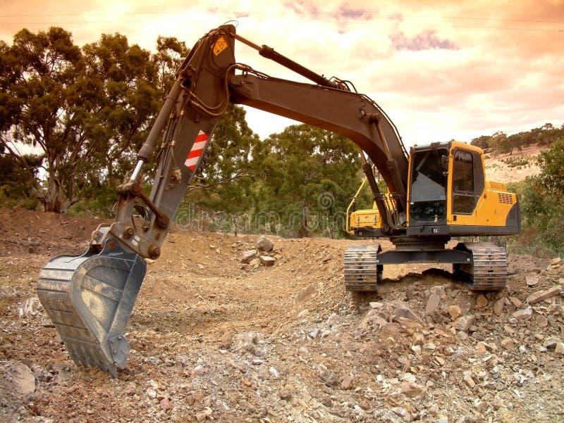 Excavation stock photography