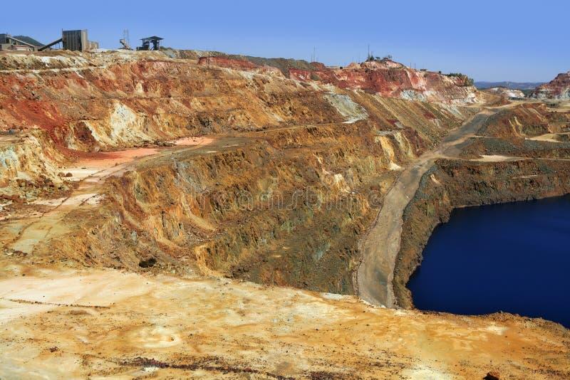 Download Excavation Metal Outdoor Mine Riotinto Stock Image - Image: 12864545