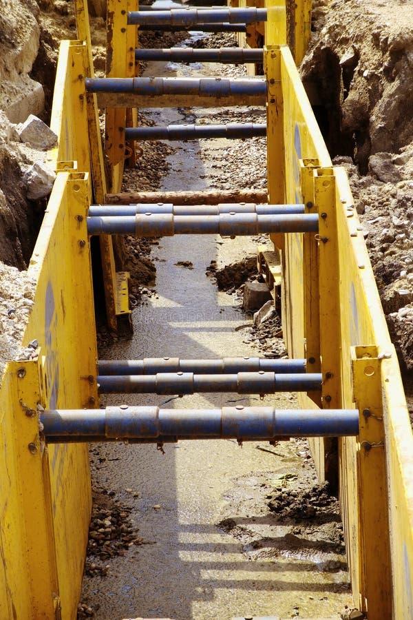Download Excavation pit stock photo. Image of excavation, yellow - 10189878