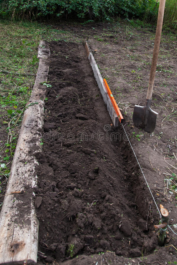 Download Excavation Work On The Farm Royalty Free Stock Photos - Image: 28954398