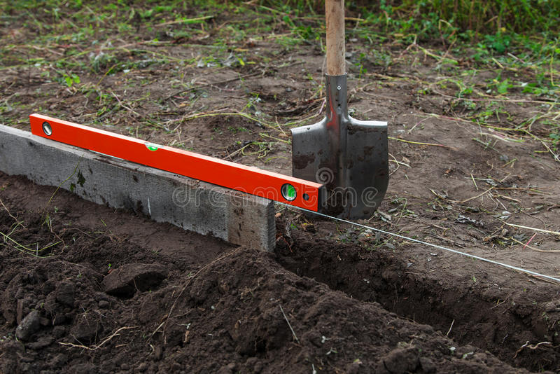 Download Excavation Work On The Farm Stock Photo - Image: 29096562