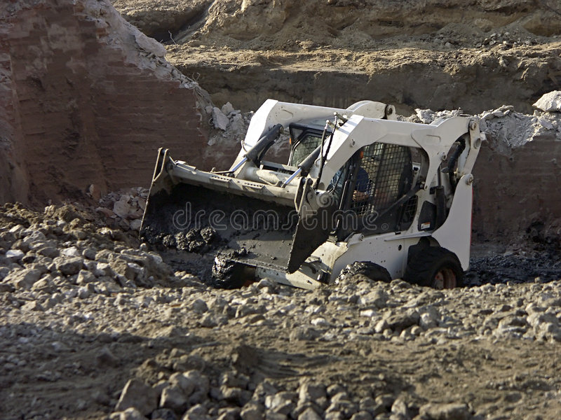 Download Excavation works stock image. Image of digger, excavator - 272193