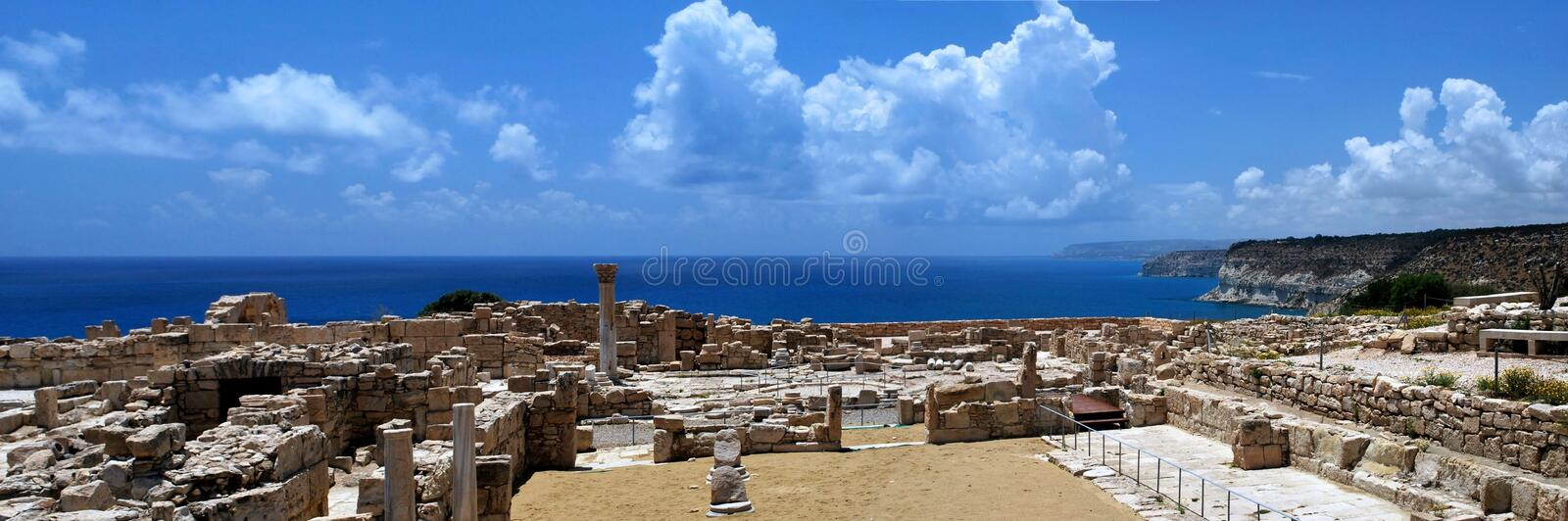 Download Excavations stock photo. Image of green, coast, facade - 26861066