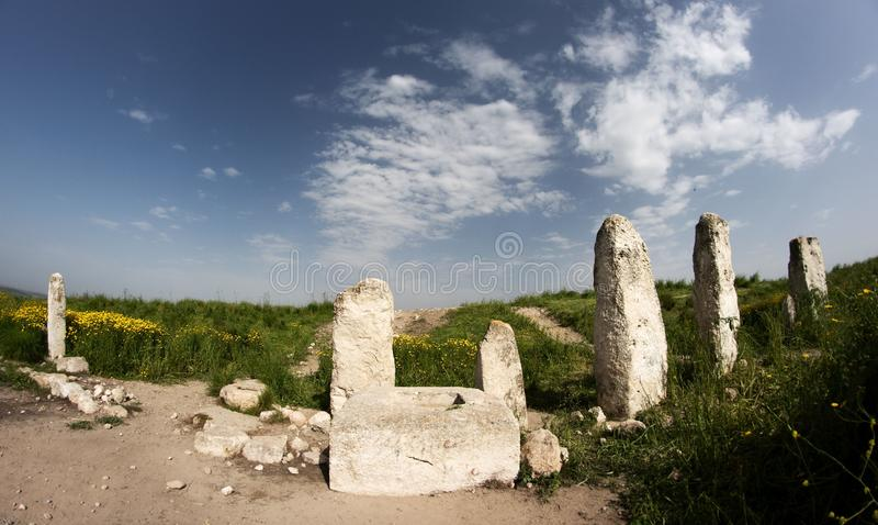 Excavations Park In Israel Royalty Free Stock Image