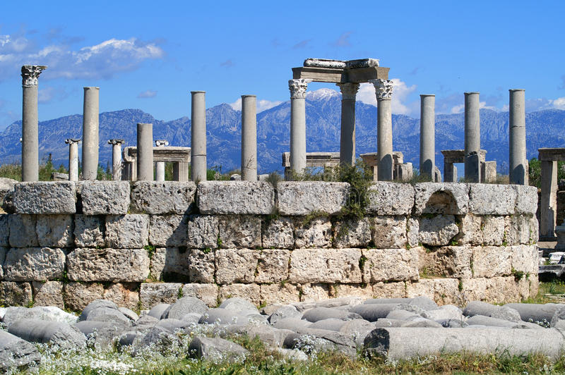 Excavations At Perge Stock Images