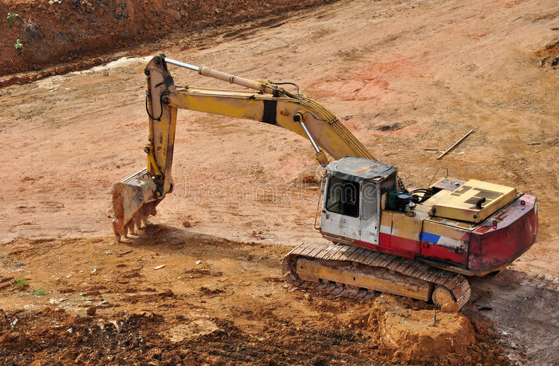 Download Excavator stock image. Image of tractor, loader, heavy - 19377321