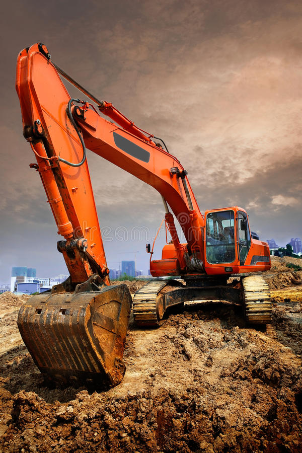 Free Excavator Royalty Free Stock Photography - 22093537