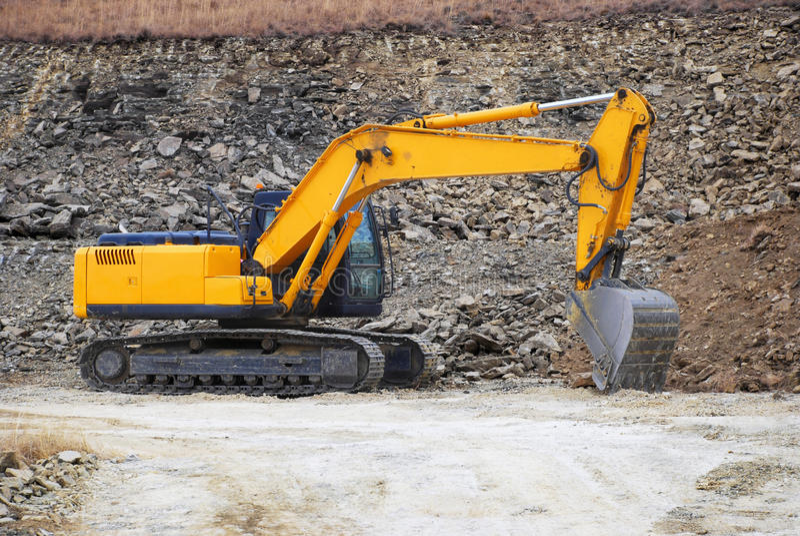 Download Excavator stock image. Image of industrial, excavate - 24029975