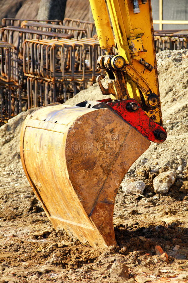Download Excavator stock photo. Image of earthmover, move, build - 24206932