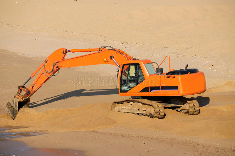 Download Excavator stock image. Image of digger, commerical, fences - 26376311