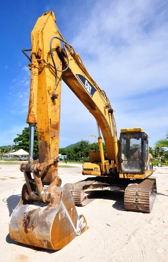 Free Excavator Royalty Free Stock Images - 37722999