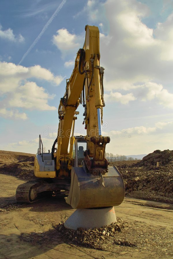 Download Excavator stock photo. Image of industry, constructing - 8483646