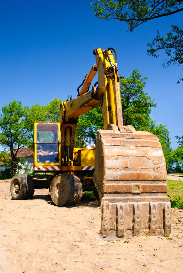 Free Excavator Stock Images - 9272394