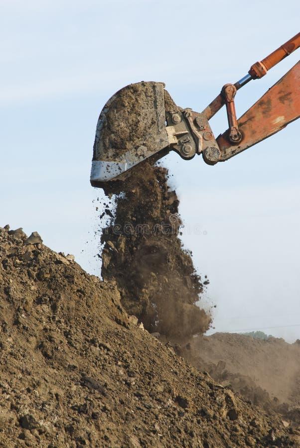 Free Excavator Bucket Royalty Free Stock Photos - 9799298