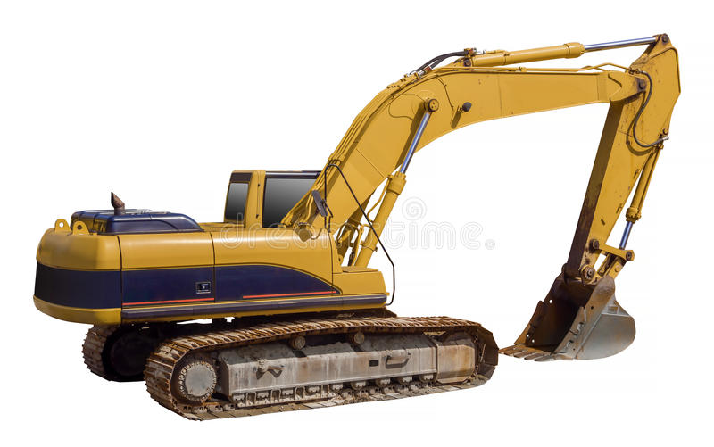 Download Excavator Loader Machine, Isolated Stock Photo - Image: 39478284
